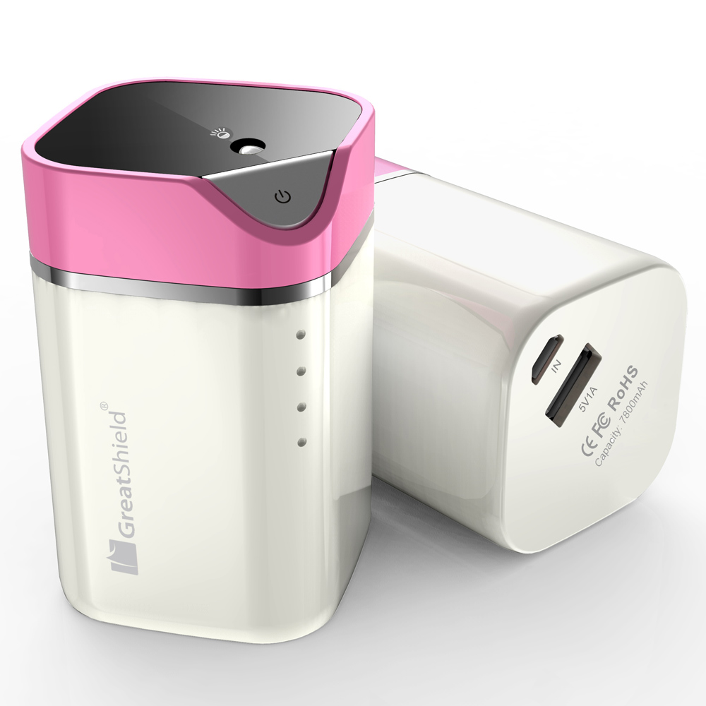 Greatshield Luminouspower Battery Charger With Led Lighting Pink Motorolla Moto E3 Power Casing Back Case Kasing Design 40 Image Gs09044 5