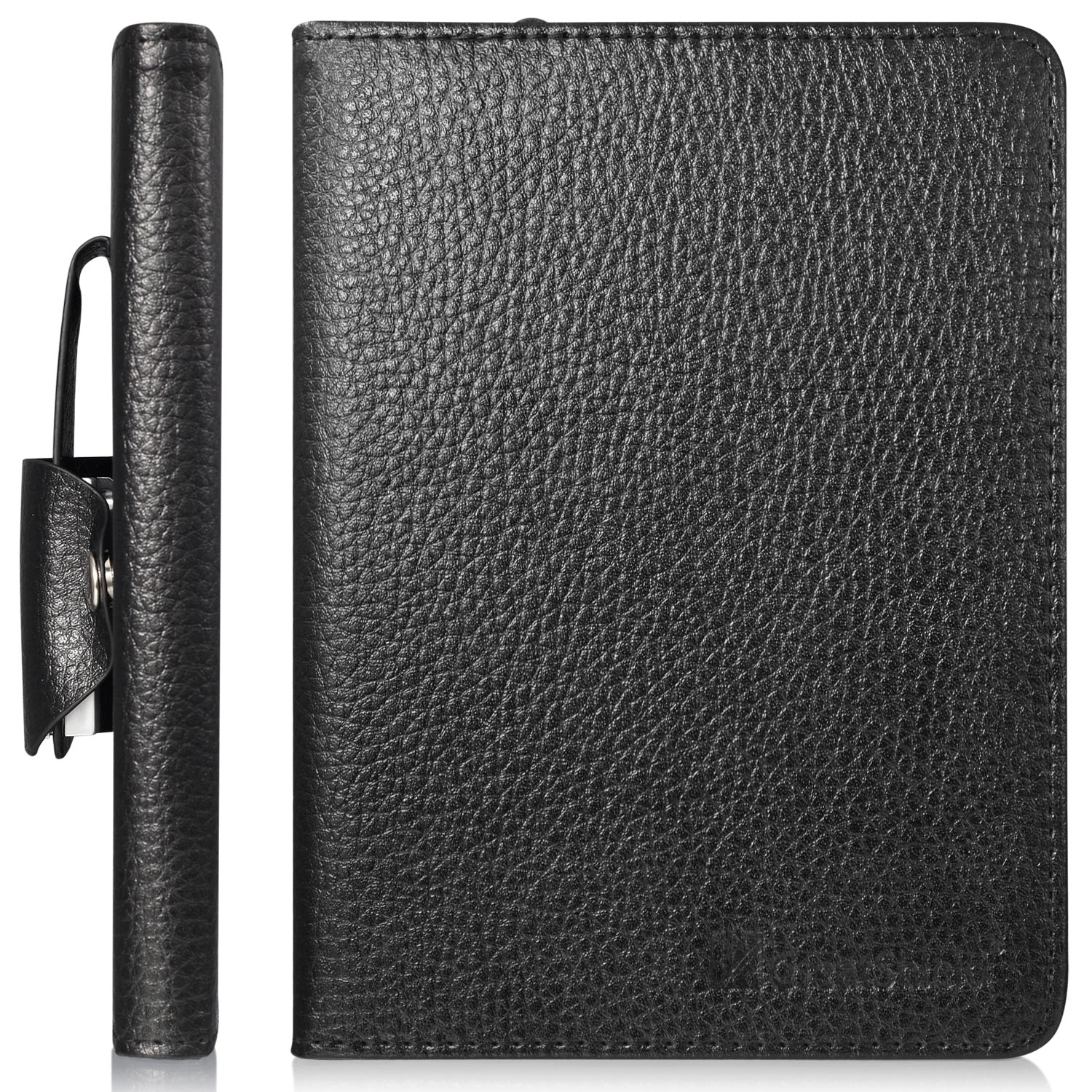 amazon all new kindle e reader leather case with built in. Black Bedroom Furniture Sets. Home Design Ideas